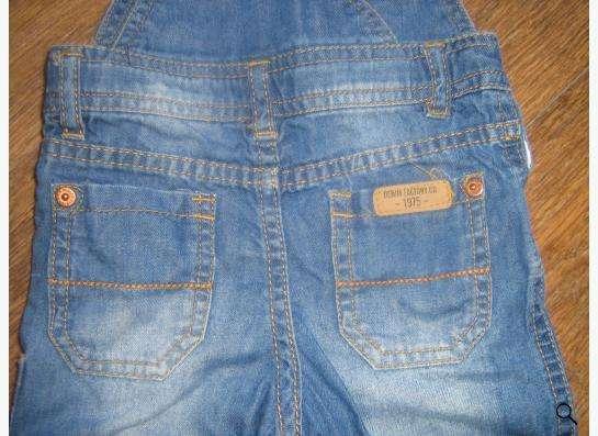 Продам детский джинсовый комбинзон zara
