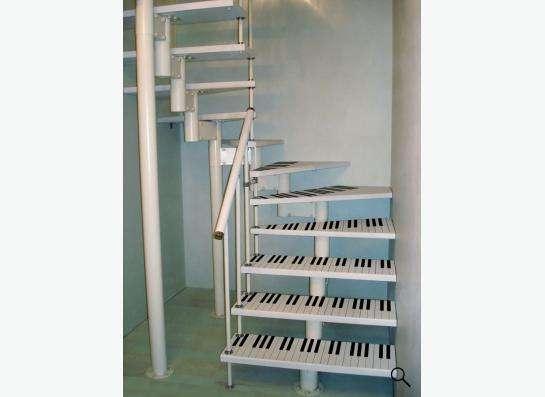 Современная, стильная, надежная лестница в Москве фото 9