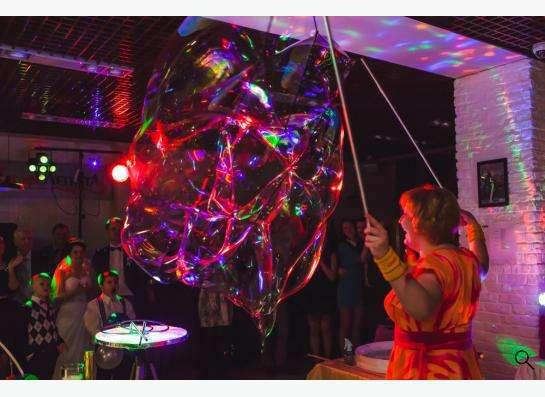 Шоу мыльных пузырей в Екатеринбурге