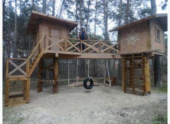 детская игровая площадка в Новосибирске Фото 1