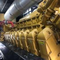 Газопоршневая электростанция Caterpillar 3520 б/у, в г.Баку