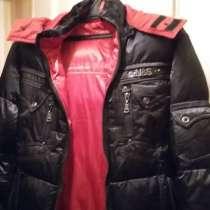 Зимняя куртка с капюшоном (абсолютно новая), очень тёплая, в Москве
