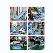Линия для производства медицинских масок из Китая, в г.Чэнду