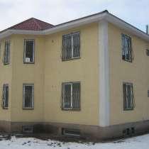 Коттедж под офис, в Мамыр 4. 2 заезда. Дом сухой, кирпичный, в г.Алматы