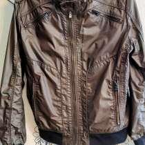 Куртка мужская, 48-50 разм., коричневая, лёгкая, отл.состоян, в Санкт-Петербурге
