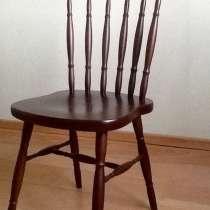 Продам итальянские стулья из красного дерева, в Красноярске