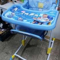 Стульчик для кормления Geoby на колесиках, в Димитровграде