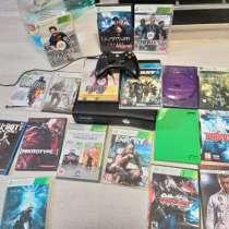 Xbox 360+все провода и игры(обмен), в Москве