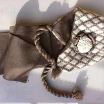 Шапочка и шарфик для девочки школьного возраста, в Красноярске