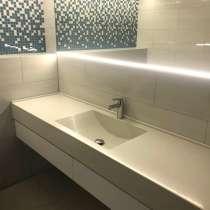 Столешницы для ванных комнат из жидкого гранита GraniStone, в г.Ridala