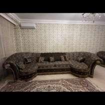 Хол. Диван, кресло, стол, в Махачкале