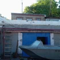 Бокс на берегу залива 8 х 12 м Лодочная станция 110 м2, в Таганроге