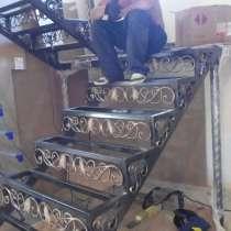Сварочные работы по лестницам, в Дмитрове
