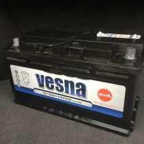 Аккумулятор Vesna Premium 12V 100Ah 920 A(En), в г.Минск