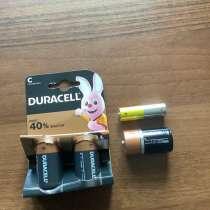 Батарейки С Duracell LR 14, в Москве