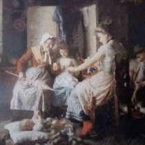 Картины. Вышивка известных работ из коллекций музея. Дорого, в г.Калуш