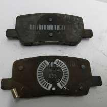 З/ч Тесла. Колодки тормозные задние MANDO (комплект 2 штуки), в Москве
