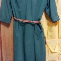 Продается платье для офиса,48раз.Ткань стреч(вискоза), новое, в Губкинском