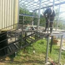 Сварщик, ремонт ворот, в Санкт-Петербурге