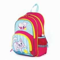 Рюкзак ПИФАГОР+ для учениц начальной школы, Котенок, 40×30×1, в Симферополе