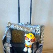 Дорожная сумка-рюкзак на колесах для собаки или кошки, в Хабаровске