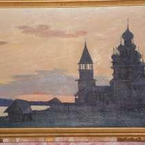 Картины художника хранятся в Третьяковке, в Москве