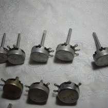 Переменные резисторы для ламповых усилителей 23 штуки, в Челябинске