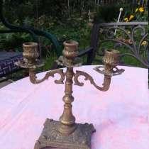 Канделябр на 3 свечи, в Королёве