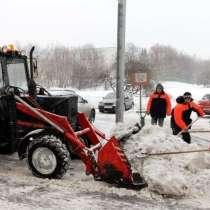 Ручная уборка снега, в Нижнем Новгороде