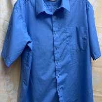 Рубашка 800руб. Размер 62-64.Синий цвет, в г.Луганск