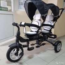 Продам велосипед для двойняшек, в Анапе