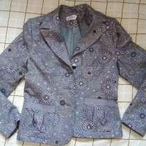 Пиджак стильный с кармашками р.46-48 б-у пару раз в отличном, в Москве