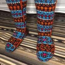 Носки мужские вязаные вручную, дагестанские джурабы, в Москве