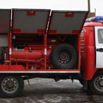 УАЗ пожарный автомобиль, в Омске