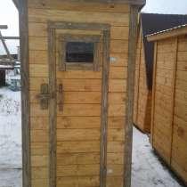 Дачный деревянный туалет, в Череповце