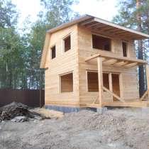 Строительство из бруса под ключ, в Иркутске