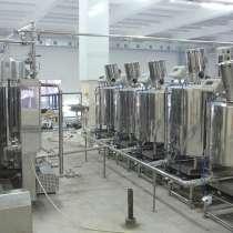 Линии переработ молока, Сыроварни, ВДП, Емкости. Завод Гранд, в Москве