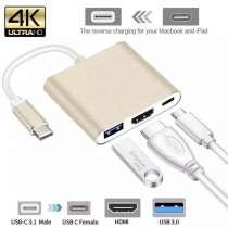 Продаю переходник Type-C на HDMI/USB 3.0, в г.Бишкек