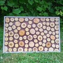Декоративное панно из спилов дерева, в г.Гомель