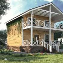 Шикарный новый 2 этажный дом 170 кв.м. с балконом и верандой, в Уфе