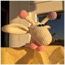 Вязаная игрушка Жирафик, в Набережных Челнах