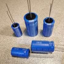 Высокотемпературный конденсатор электролит Nichicon Chemicon, в Москве