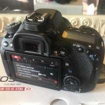 Цифровая зеркальная камера Canon EOS 80D с 18-135 мм EF-S f, в Уфе