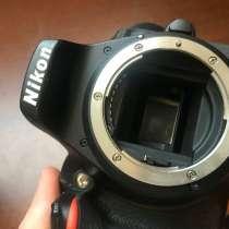 Фотоаппарат Nikon d5500 и объектив SIGMA DC 17-50mm 1:2.8, в Москве