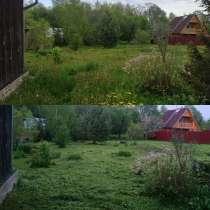 Покос травы, в Волоколамске