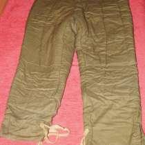Подкладочные штаны от зимнего камуфляжа, в Омске