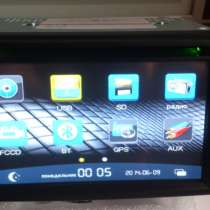 Штатная автомагнитола для всех марок Toyota 2DIN, с GPS, в Новокузнецке