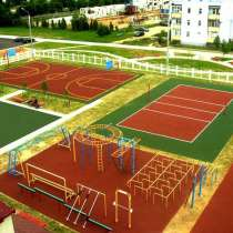 Строительство спортивных, игровых и детских площадок, в Екатеринбурге