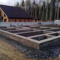 Строительство фундаментов, в Новосибирске