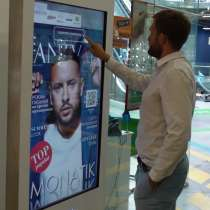 Интерактивный терминал для продажи рекламы. Рекламный бизнес, в г.Астана